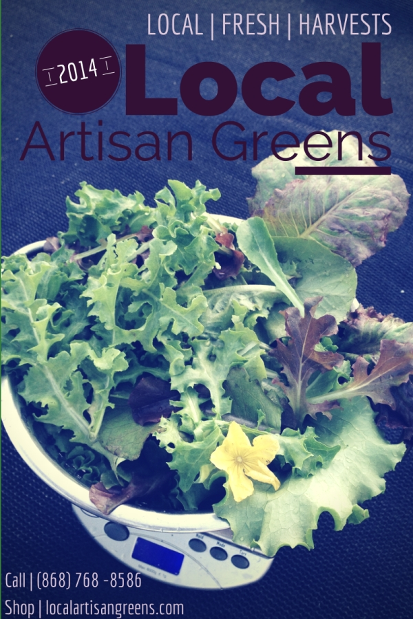 Flyer Local Artisan Greens