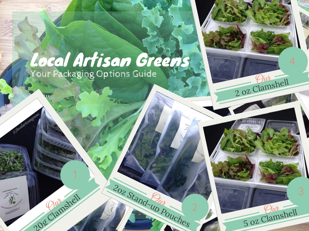 Packaging LocalArtisanGreens
